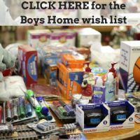 CLICK HERE for theBoys Home wish list
